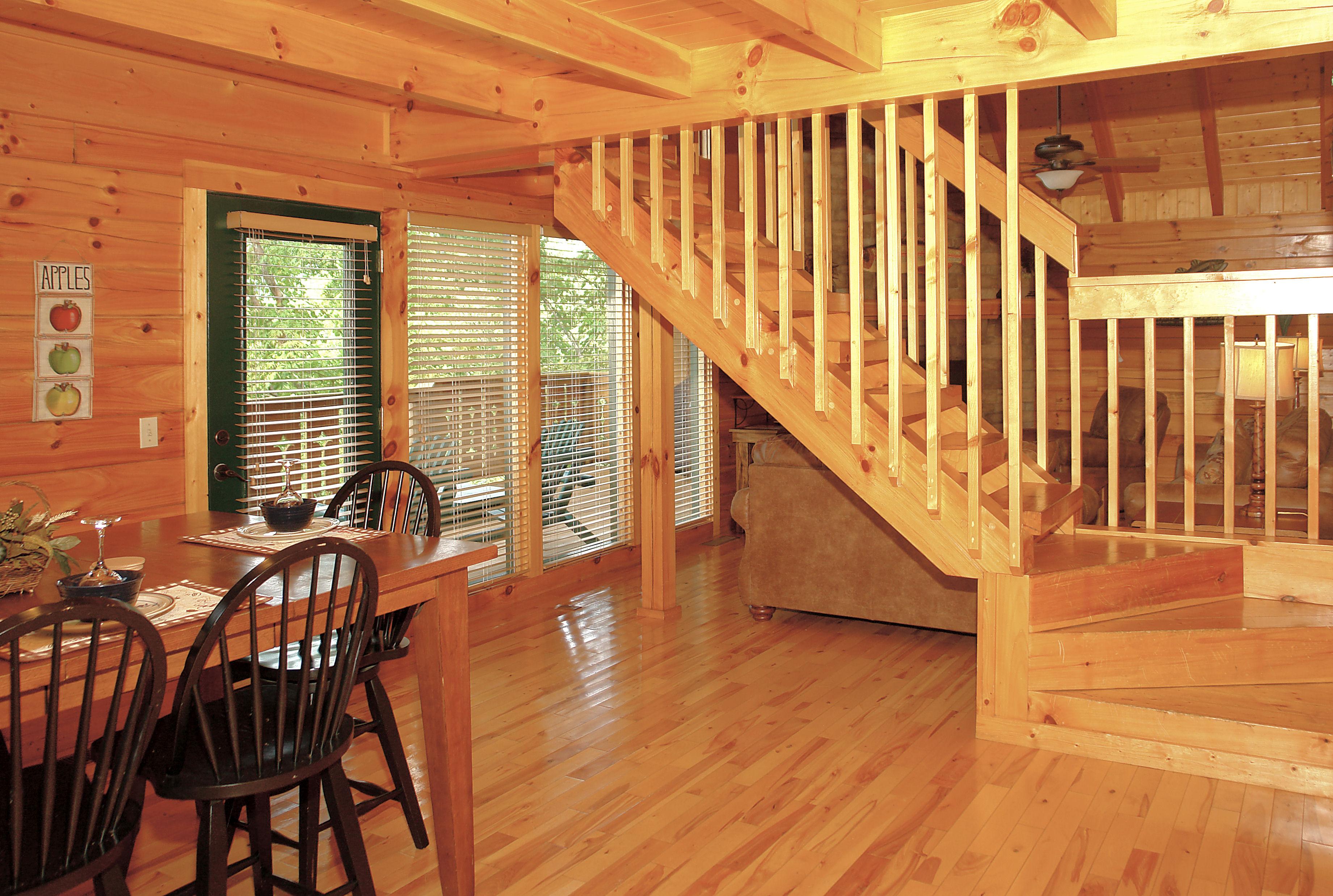 Lilac Log Cabin Vacation Rental